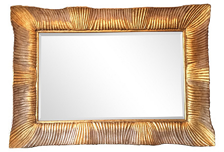 Monumental Gilded Mirror