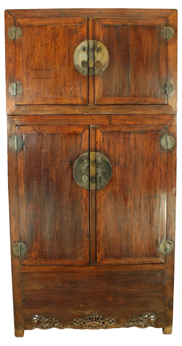 Antique Chinese Cabinet w/ Dragons