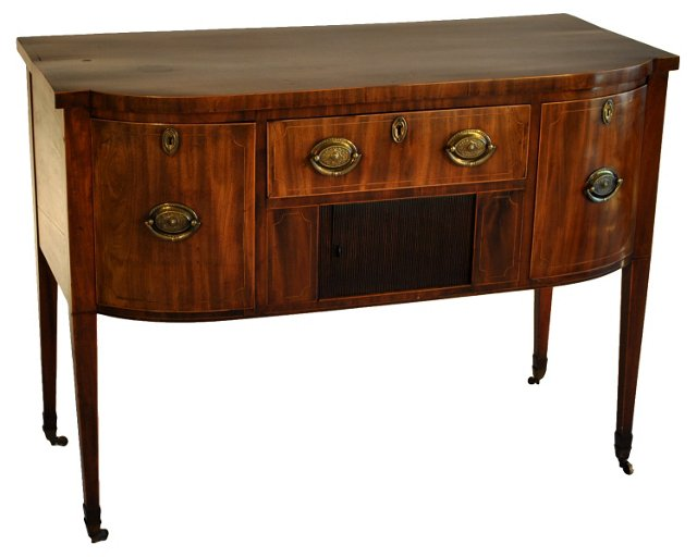 English Mahogany Sideboard, C.  1810
