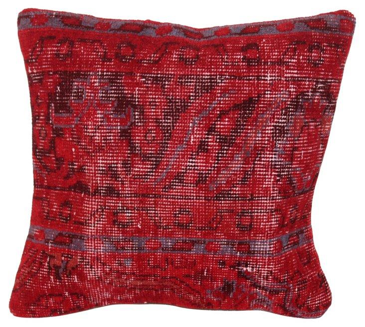Overdyed   Rug Pillow