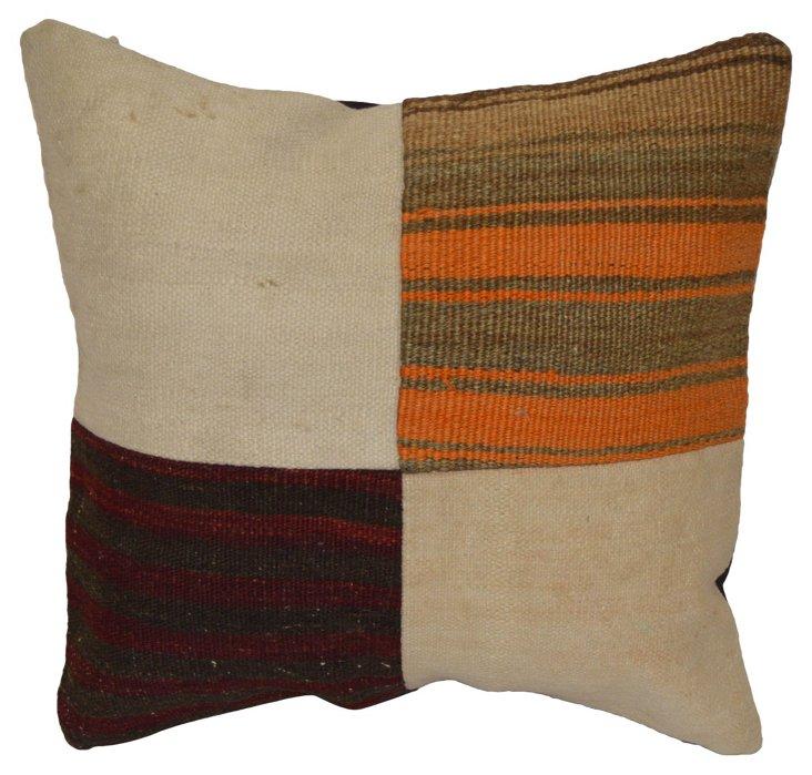 Turkish Kilim       Patchwork   Pillow