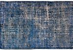 Turkish Overdyed Rug, 6' x 9'6""