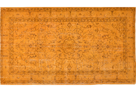 Turkish Overdyed Rug, 4'11