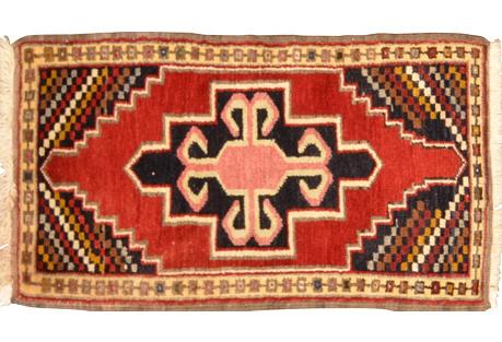 Anatolian Yastik, 1'7'' x 2'10''