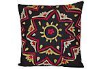Handmade Uzbek Suzani Pillow