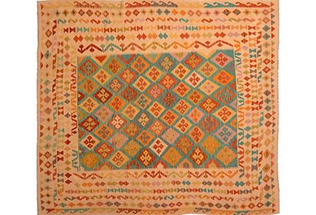 Afghan Kilim, 8'4