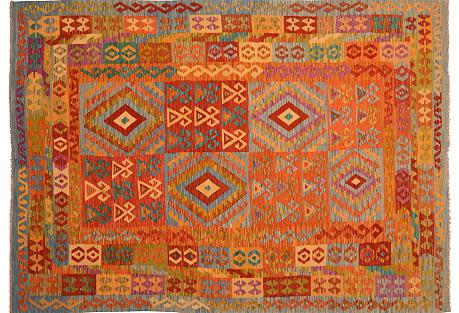 Afghan Kilim,6'9