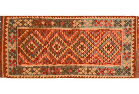 Afghan Kilim, 3'1