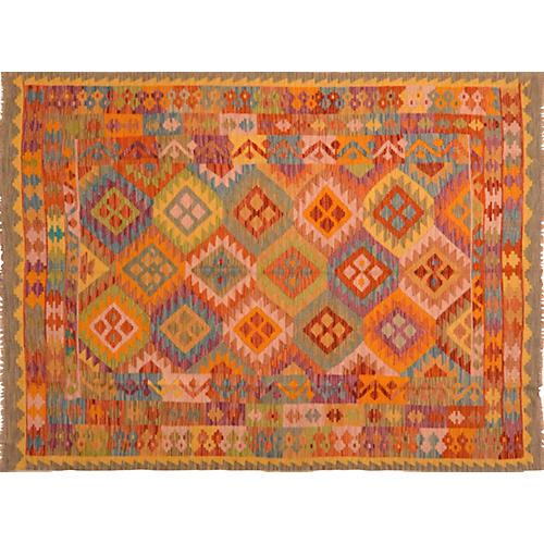 Afghan Kilim, 6' x 8'