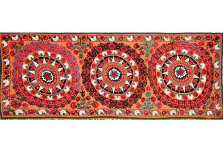 Uzbek Suzani, 4'9