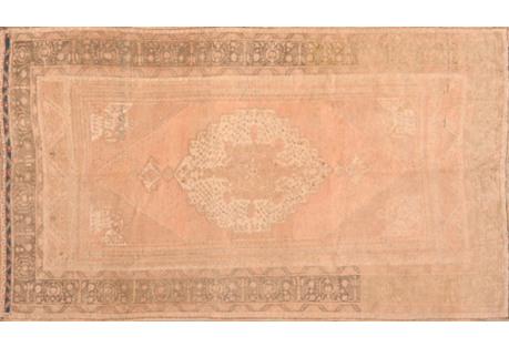 Anatolian Oushak Rug, 6'2