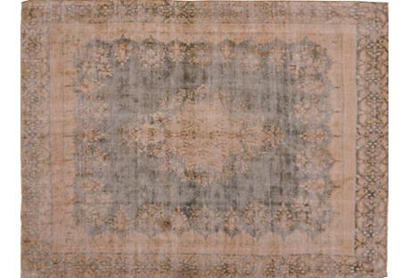 Persian Kerman Carpet, 9' x 12'