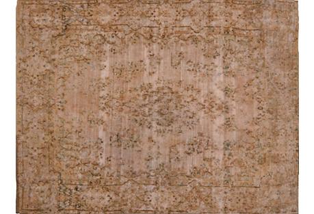 Persian Kerman Carpet, 9'6