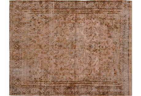 Persian Distressed Carpet, 9'3