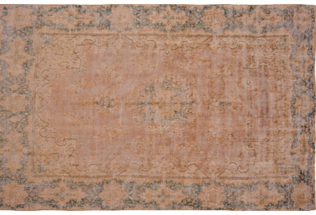 Persian Distressed Carpet, 9'2