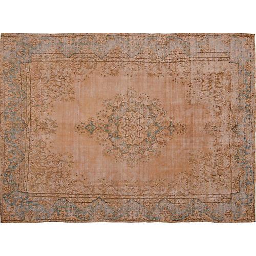 """Persian Distressed Carpet, 9'8"""" x 13'"""