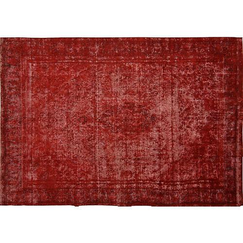 "Persian Overdyed Carpet, 8'11"" x 13'1"""