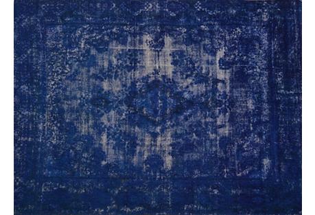 Persian Overdyed Carpet, 10'5