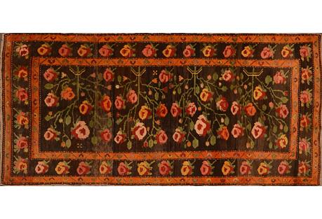 Caucasian Karabagh Rug, 4'3'' x 9'