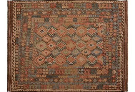 Afghan Maimana Kilim, 8'3