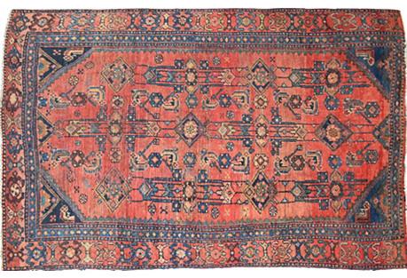 Persian Malayer Rug, 3'9'' x 6'