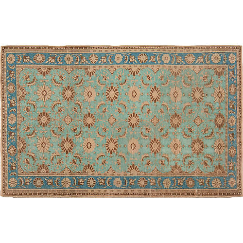 Turkish Overdyed Rug, 6'4'' x 10'