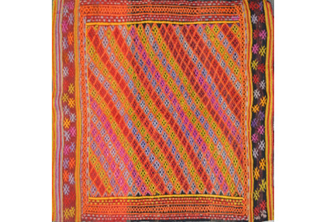 Turkish Kilim, 3'4