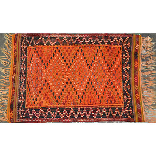 "Turkish Kilim, 2'6"" x 3'9"""