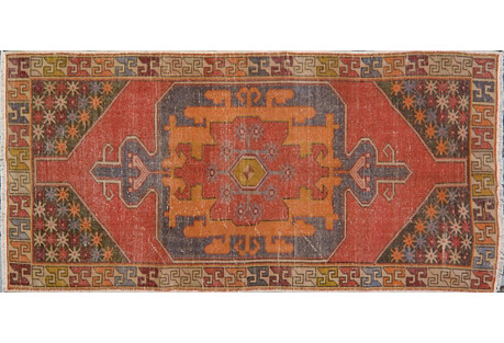 Turkish Rug, 4'1