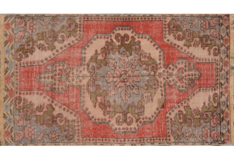 Turkish Rug, 3'8