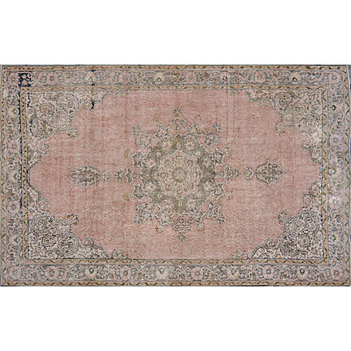 "Turkish Stonewashed Rug, 6'10"" x 10'10"""