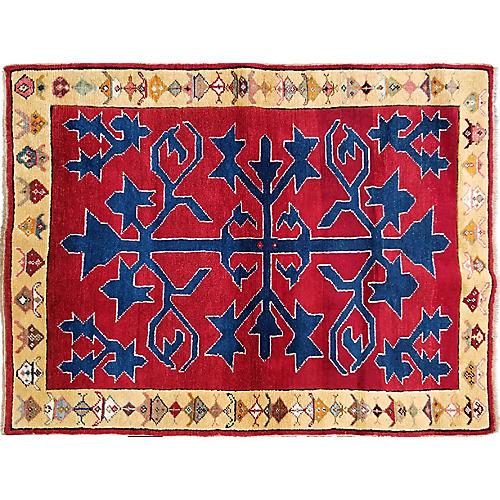 Vintage Caucasian Rug,2'11x3'11