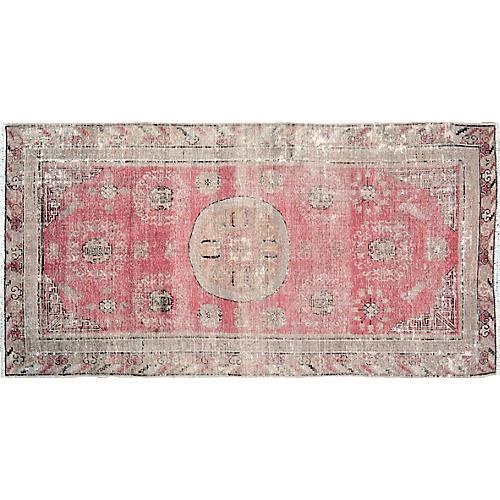 "Antique Khotan Rug,4'1""x8'2"""