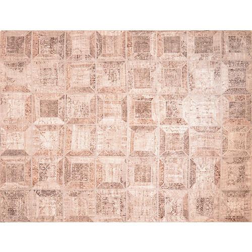 Turkish Patchwork Rug, 9' x 12'