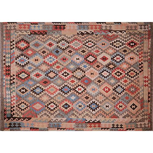 Afghan Maimana Kilim,7'x9'7''