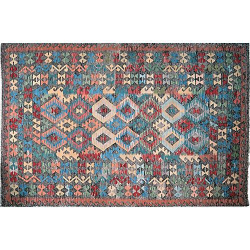 Afghan Maimana Kilim,6'3''x9'7''