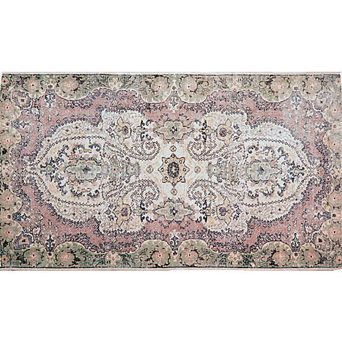 "Turkish Whitewash Rug,5'4""x9'5"""