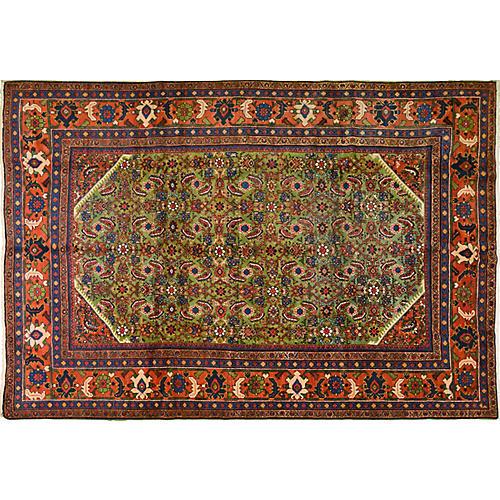 """Antique Persian Mahal Rug, 8'2"""" x 11'9"""""""