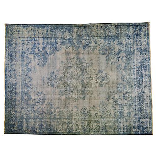 """Persian Kerman Carpet, 9'9"""" x 13'10"""""""