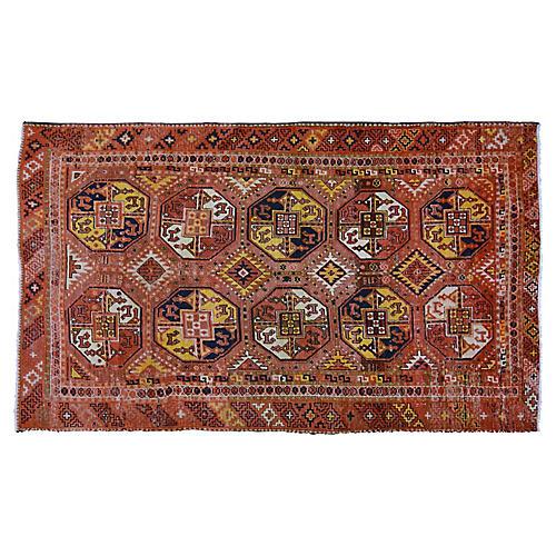 "Antique Khotan Rug,5'9""x9'6"""
