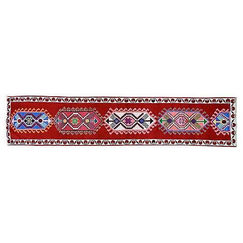 """Kurdish Rug, 2'8"""" x 13'1"""""""