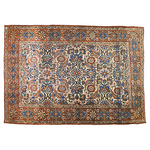 "Persian Malayer Rug, 4'8"" x 6'5"""