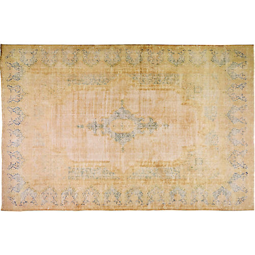 """Persian Kerman Carpet, 9'8"""" x 14'6"""""""