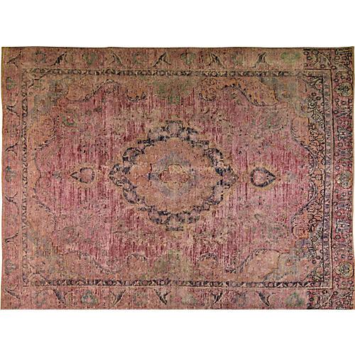 Persian Tabriz Carpet, 9' x 12'