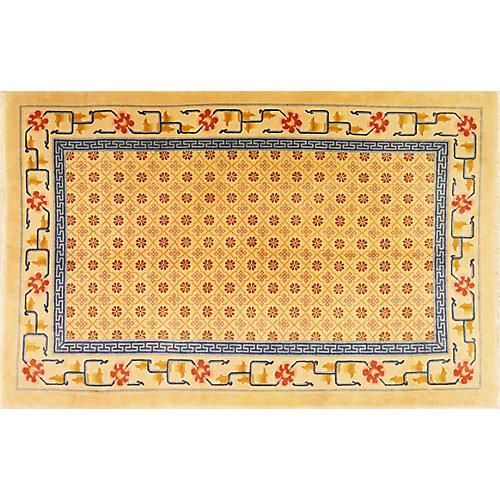 "Chinese Art Deco Rug, 5' x 7'10"""