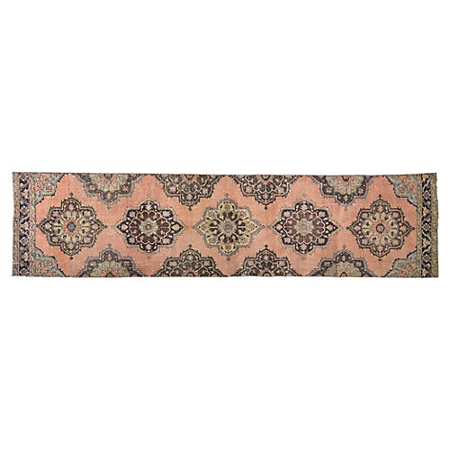 Turkish Anatolian Rug - 3'5''x14'4''