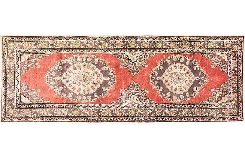 Turkish Anatolian Runner Rug,3'4