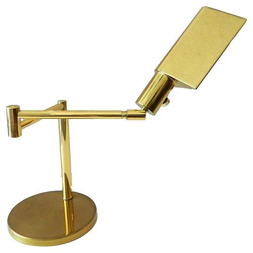 Koch + Lowy Brass Lamp