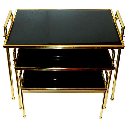 Nesting Tables by Maison Jansen, S/3