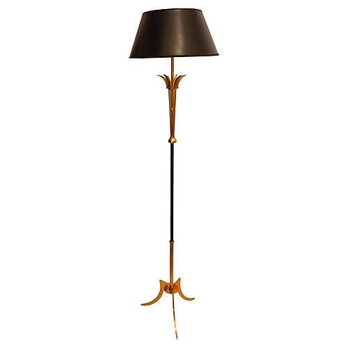 French Maison Jansen Floor Lamp